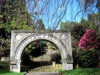 The Anniversary Arch at the Royal Tasmanian Botanical Gardens in Hobart